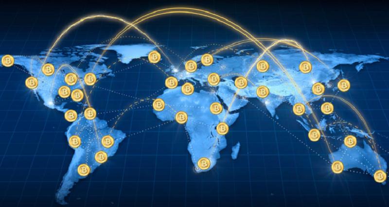 блокчейн биткоина